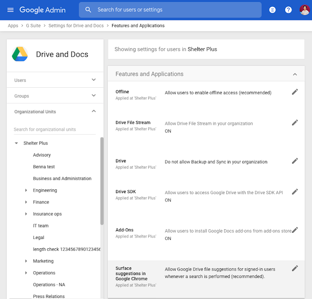 Drive File Suggestions in Google Chrome will be Generally Available Beginning in December 2