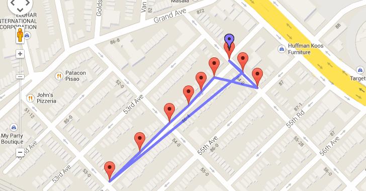 google location tracking app