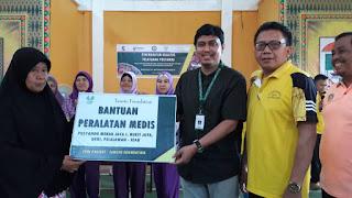 Dukung Peningkatan Kualitas Pelayanan Posyandu, Project SPOI Tanoto Foundation Distribusikan Peralatyan Medis Posyandu