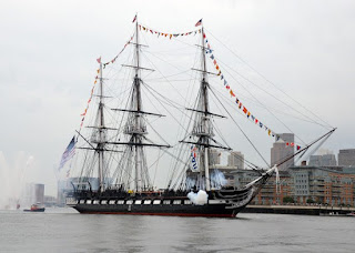 Boston USS Constitution Ironsides Suffolk County Fired 17 Guns