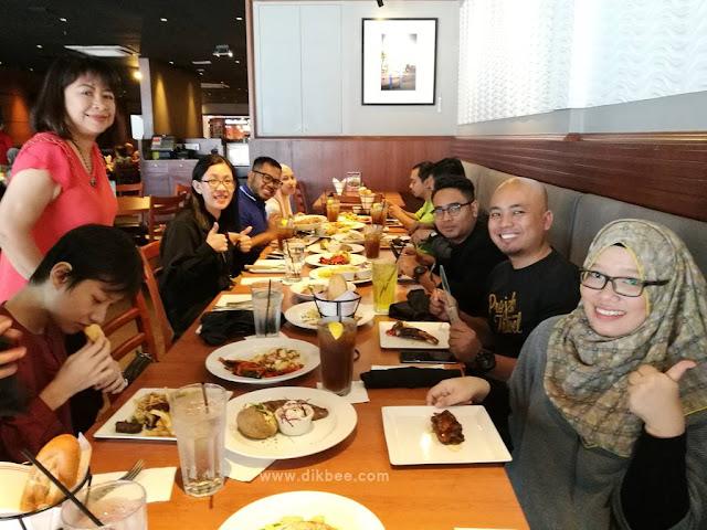 Set Lunch Murah Di Tony Roma's Serendah RM16.90