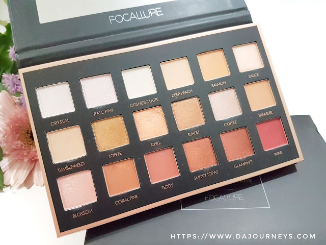 [Review] FOCALLURE We Care Your Favors #02 Neutrals Eyeshadow Palette