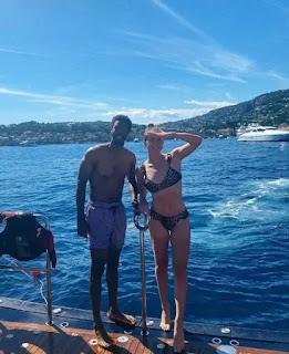 Elina Svitolina With Boyfriend Gael Monfils On Vacation