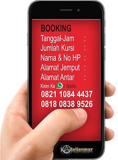 Reservasi Tiket Travel