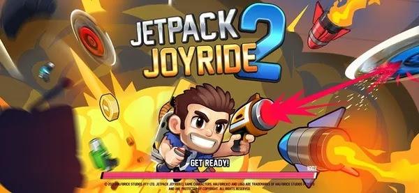 Jetpack Joyride 2 Bullet Rush MOD APK