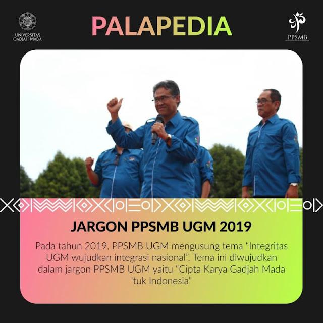 makna jargon PPSMB UGM 2019