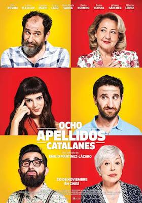 """""""Ocho apellidos catalanes"""" (Emilio Martínez-Lázaro, 2015)"""