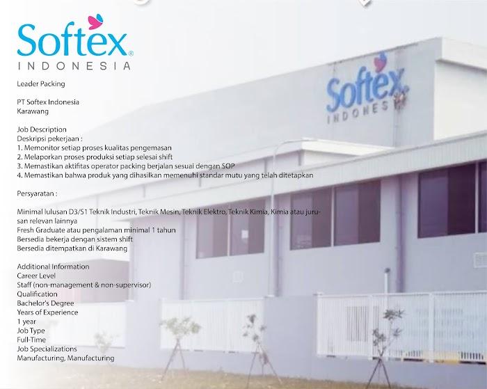 Loker PT Softex Indonesia