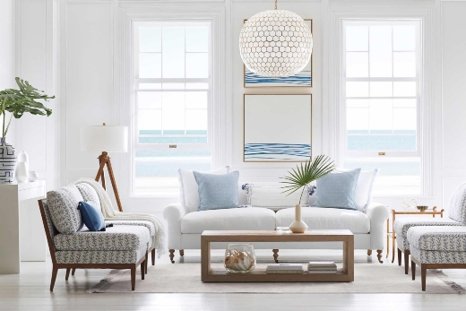 Coastal Living Room Design Decor by Serena and Lily