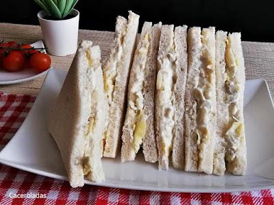 Sándwich vegetal estilo Rodilla