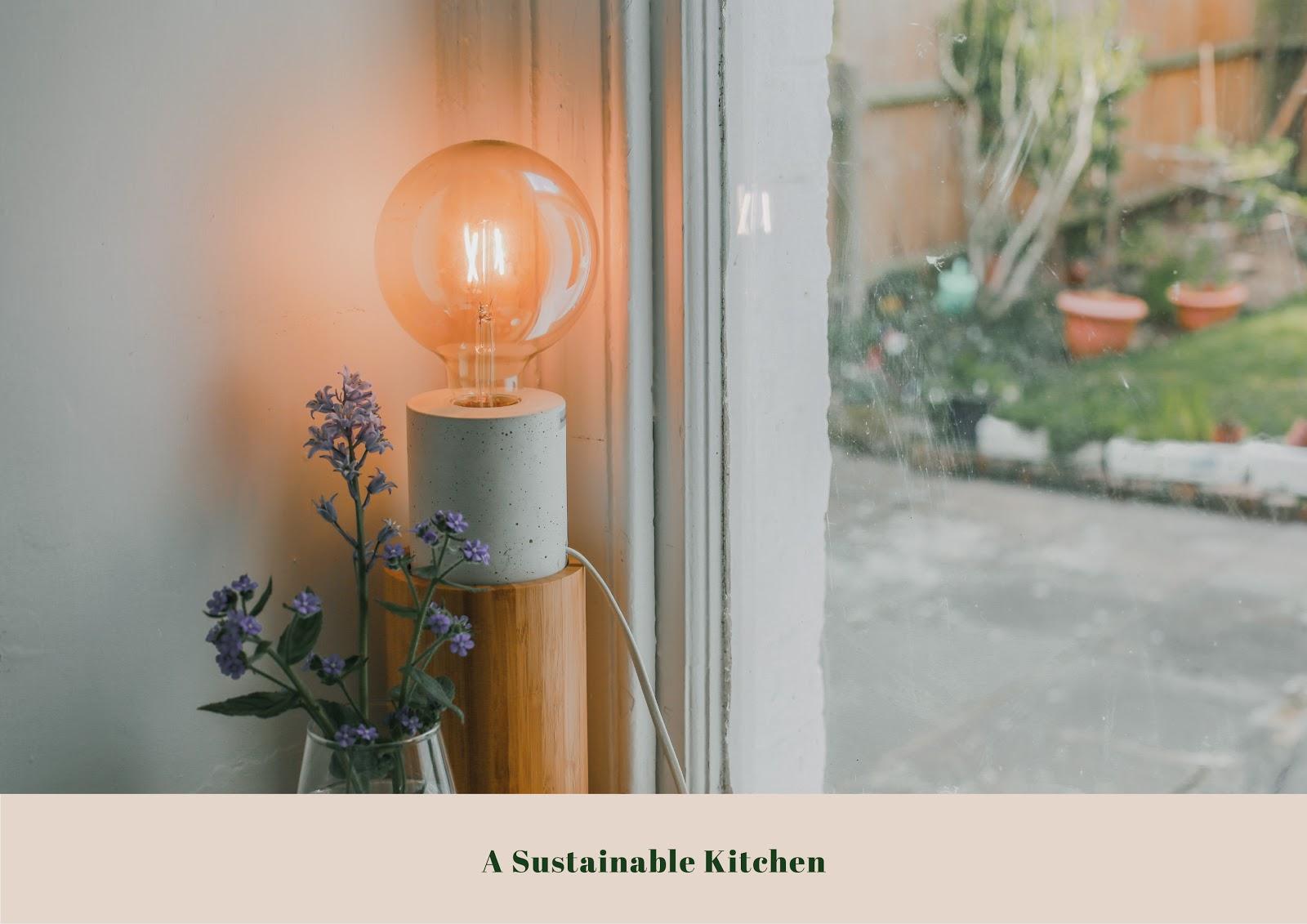 Rêveuse Kitchen: Ideas on a Sustainable Kitchen