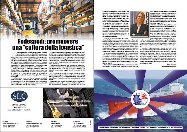 """DICEMBRE 2019 PAG. 28 - Fedespedi: promuovere una """"cultura della logistica"""""""
