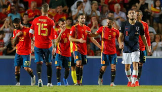 موعد مباراة اسبانيا وكرواتيا في بطولة يورو 2020..