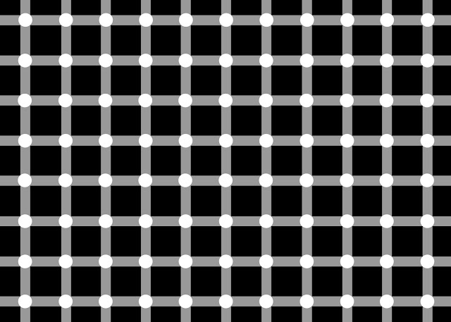 Optical illusions and tricks