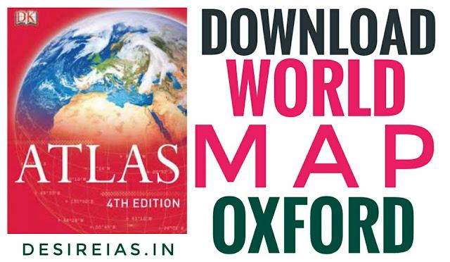 Download Oxford World Map - UPSC IAS