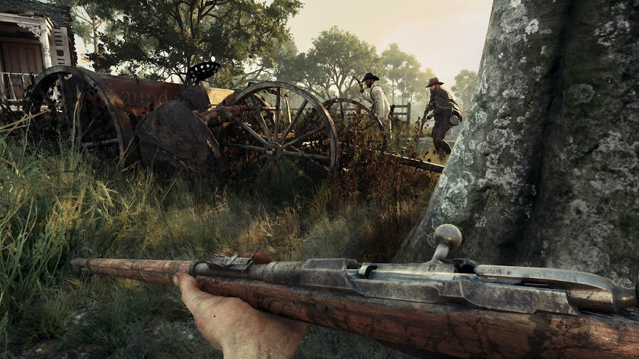 hunt showdown xbox game preview crytek gameplay xbox one pvp multiplayer