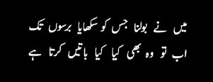 Urdu Poetry Images Collection