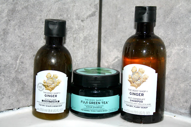 Hair and Scalp Care with The Body Shop