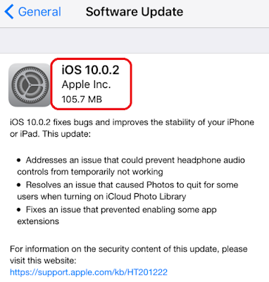 It's a really simple and different method for installing iOS 10.0.2 firmware on iPhone, iPad and iPod touch via iTunes and through OTA(Over The Air).