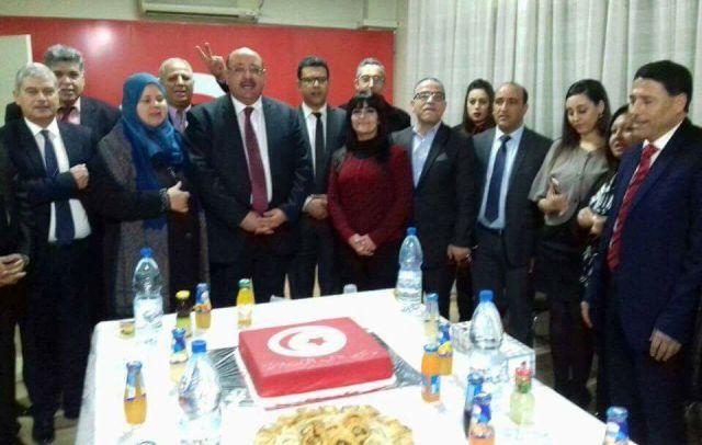 délégation parlementaire tunisienne se trouvant actuellement en Syrie