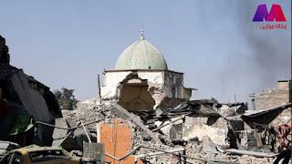 صحيفة الجارديان البريطانية : استعادة مسجد النوري لحظة رمزية وإعلان بسقوط داعش