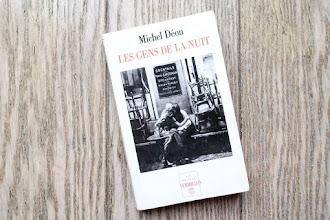 Lundi Librairie : Les gens de la nuit - Michel Déon