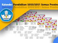 Kalender Pendidikan 2021/2022 (Semua Provinsi)