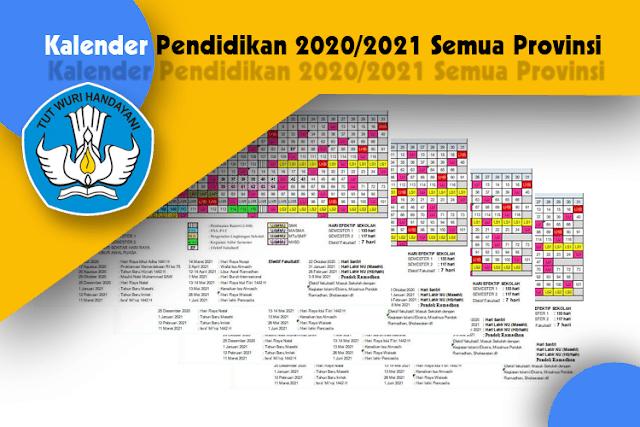Kalender Pendidikan 2020/2021 (Semua Provinsi)