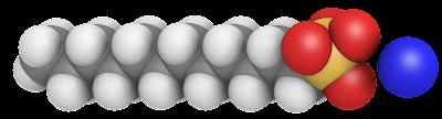 Dodecil sulfato de sodio 3D