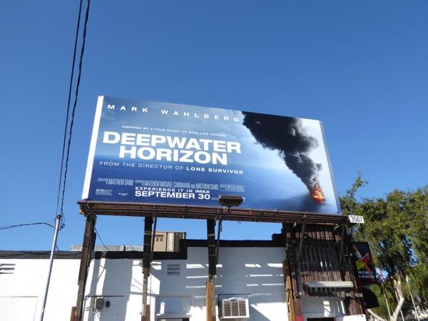 Deepwater Horizon billboard