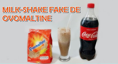 Milk Shake Fake de Ovomaltine