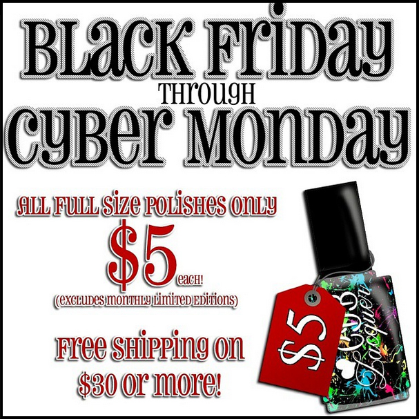 CDB Lacquer -  Black Friday Sale