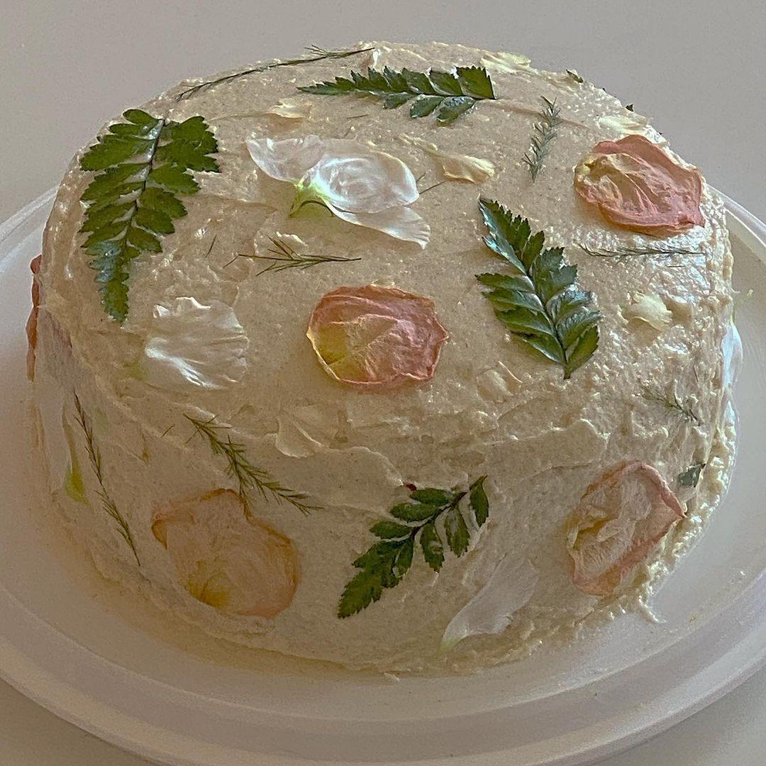 bolo vintage feminino de aniversário