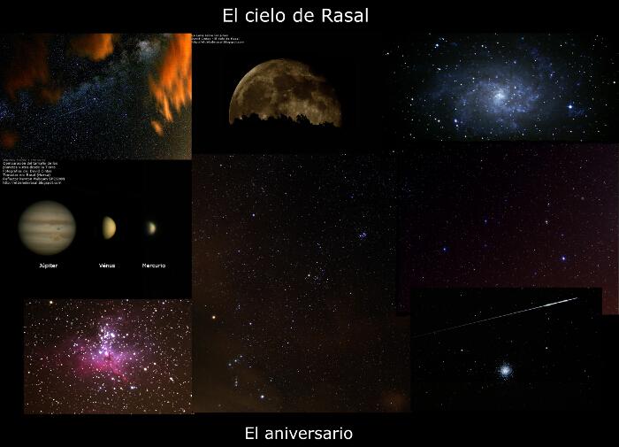 Aniversario - El cielo de Rasal