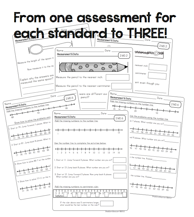 Common Core Math Assessments. You asked, I listened
