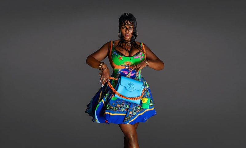 Plus-size model Precious Lee is the face of Versace spring-summer 2021 campaign.