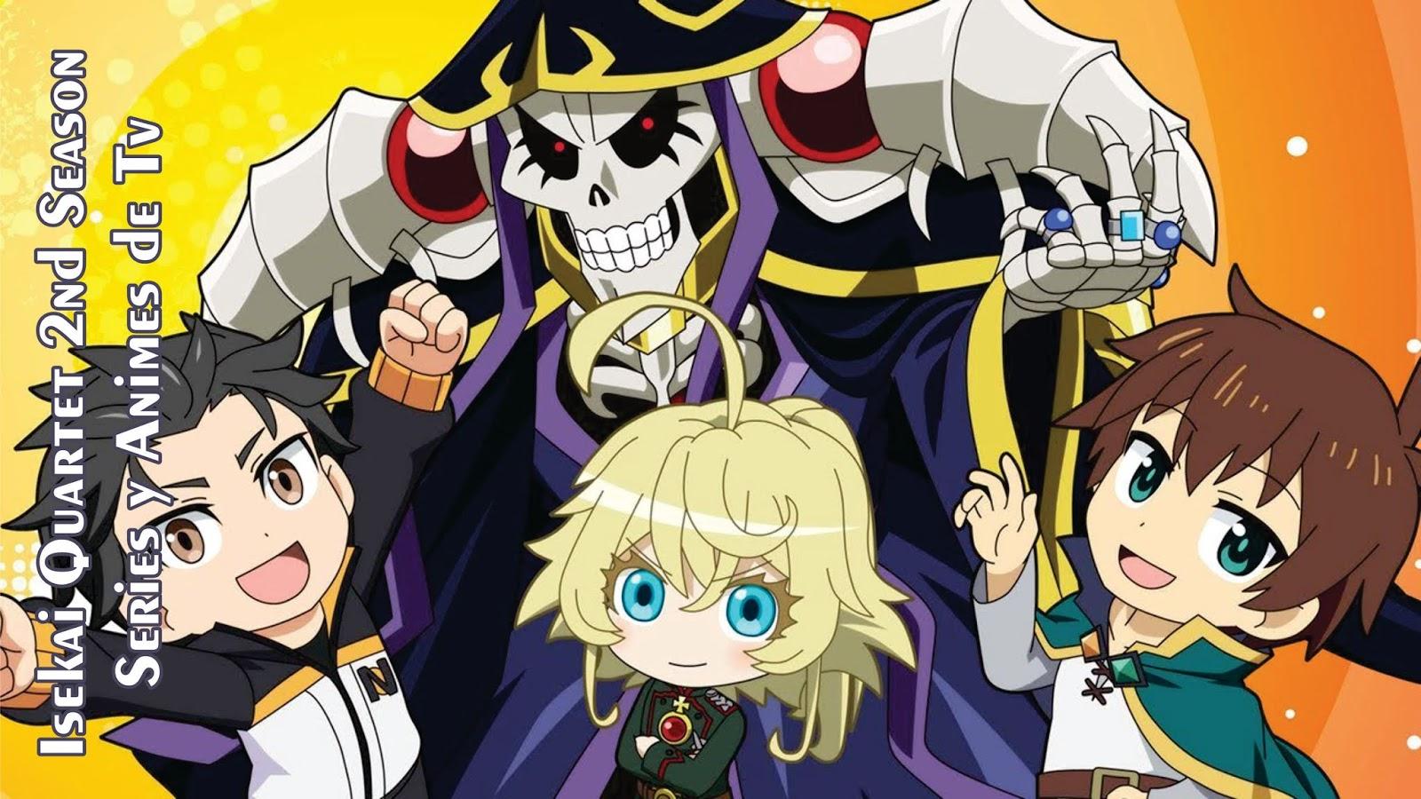 Isekai Quartet 2nd Season - 12 / 12 - AnimeSyA | Ver ...