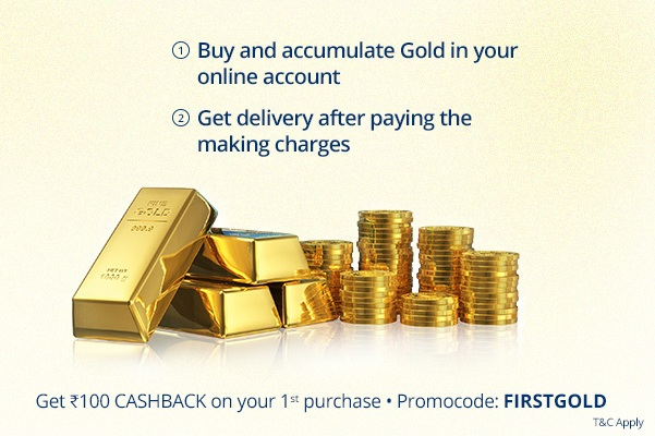 Paytm Sells Digital Gold with Discount to Encash Demonetization