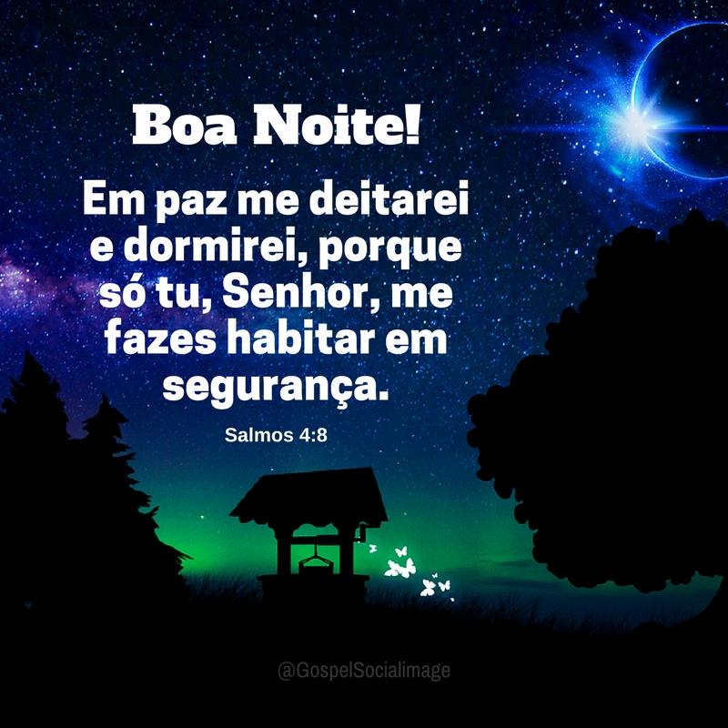 Imagem com Mensagem Boa Noite
