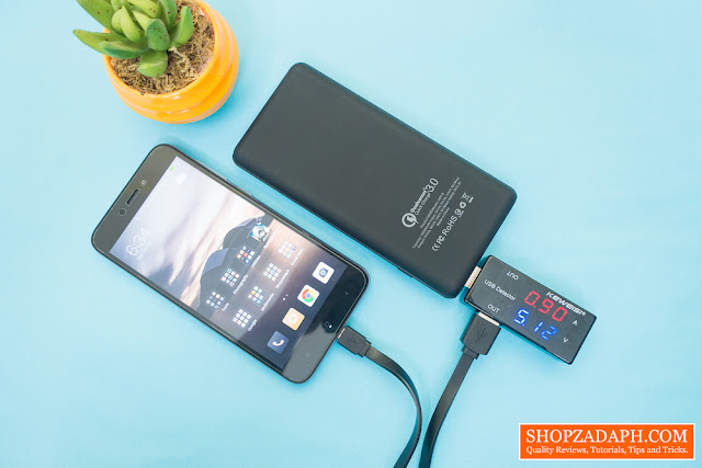 tronsmart power bank charge time