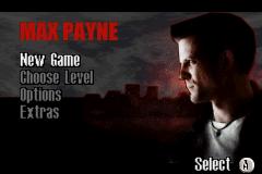 Max Payne menu jogo online para GBA