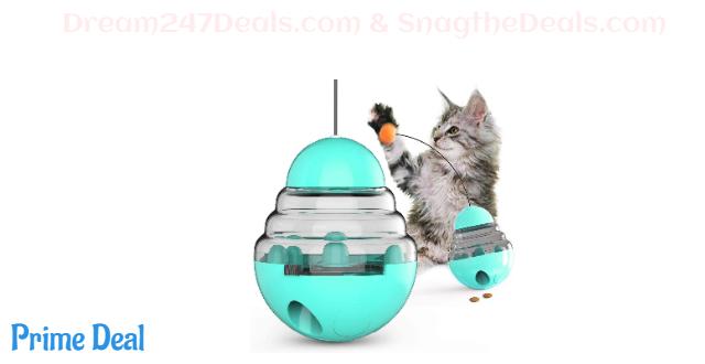 61% OFF Cat Tumbler Toy Ball