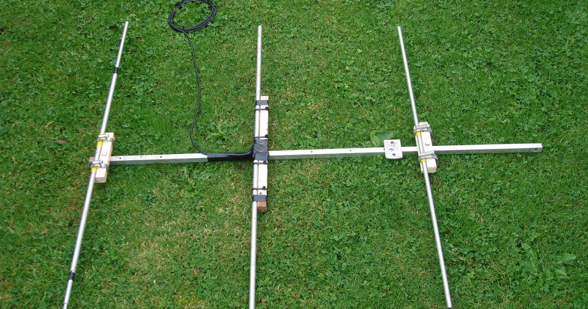 the morse sagas building a 2 meter yagi. Black Bedroom Furniture Sets. Home Design Ideas