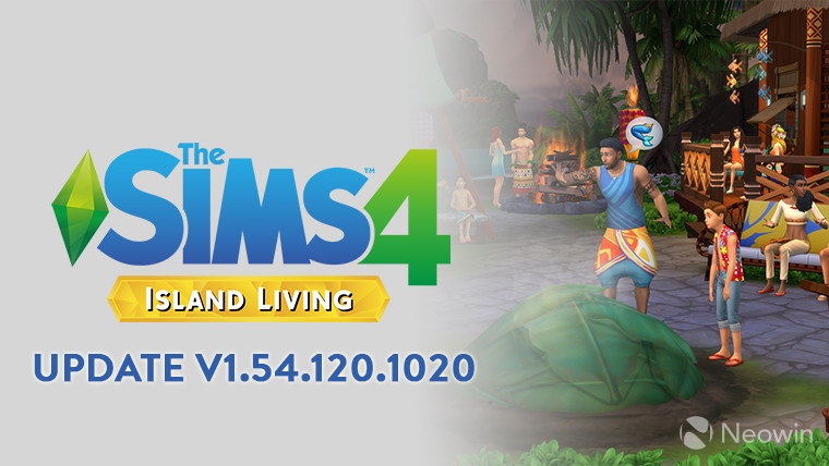 THE SIMS 4 PATCH UPDATE V1.54.120.1020 (MOSCHINO STUFF)