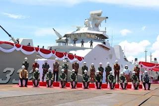 Kemenhan Serahkan KRI I Gusti Ngurah Rai Ke TNI-AL