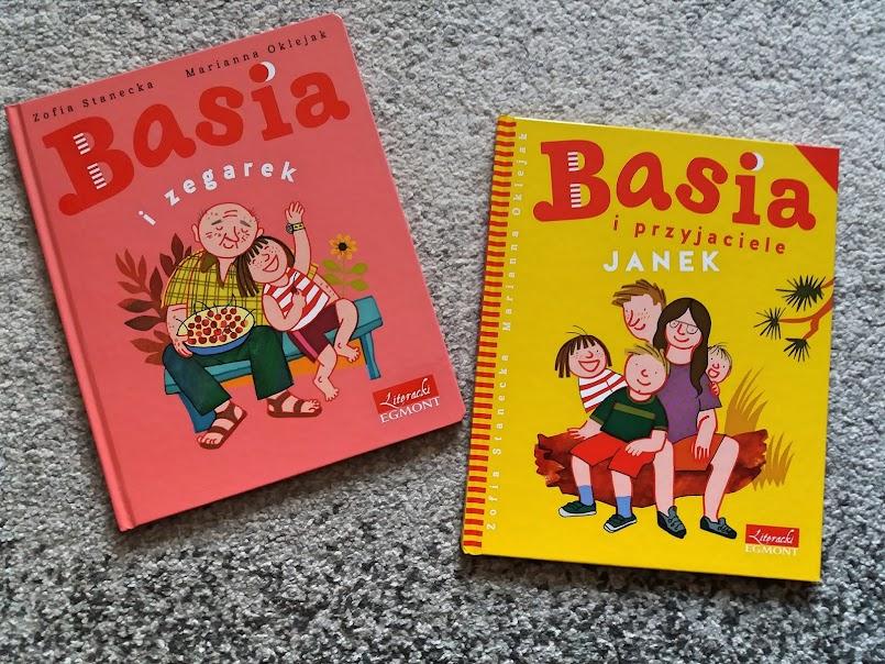 """""""Basia i zegarek"""", """"Basia i przyjaciele. Janek"""" - Zofia Stanecka"""