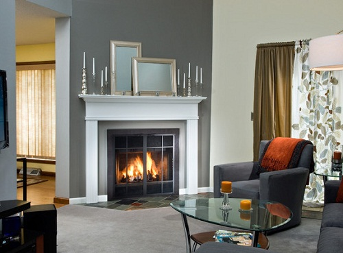 Pre-Fab Fireplace design ideas