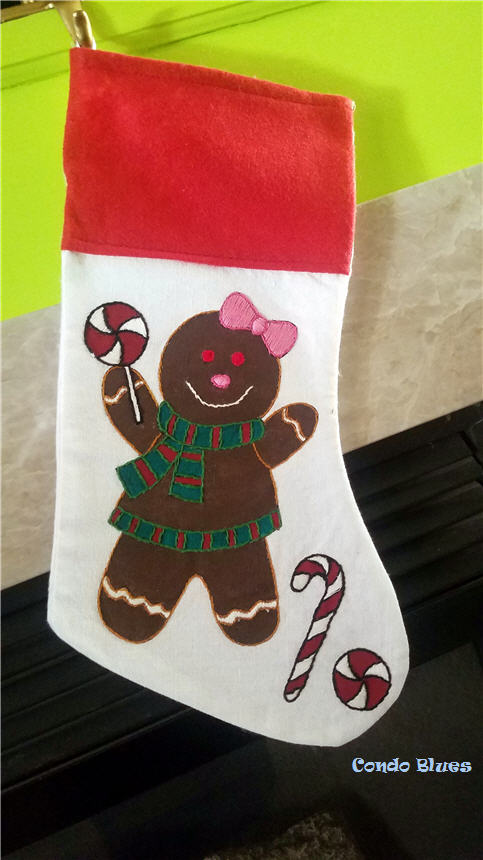 how to make personalized Christmas Stockings