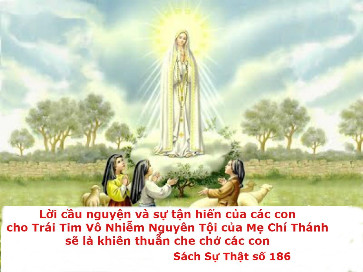 Đức Mẹ mời gọi các gia đình tận hiến cho Trái Tim Vô Nhiễm Nguyên Tội Mẹ
