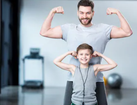 إثارة اللياقة البدنية للأطفال